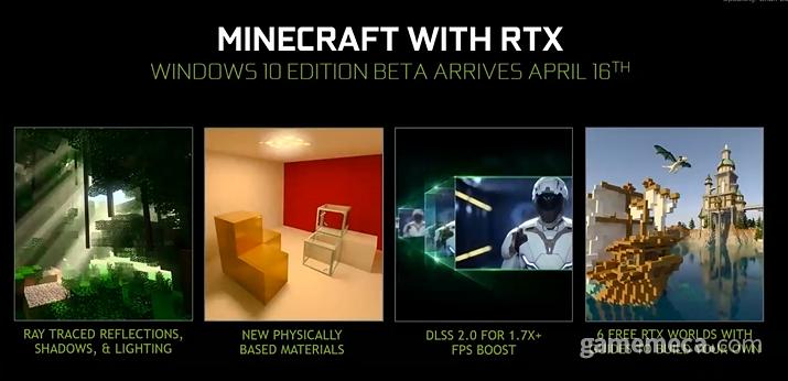 RTS 기반 마인크래프트 (사진출처: 엔비디아 웹엑스 브리핑)