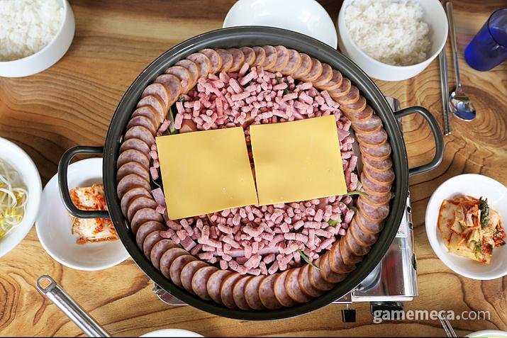 이나경 송탄부대찌개