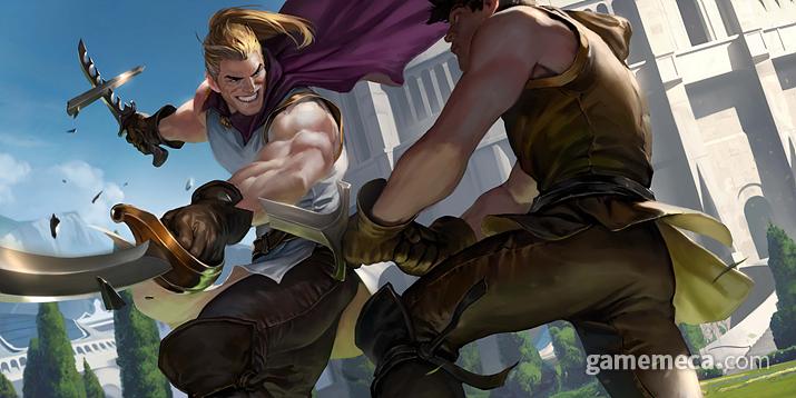 정식서비스에 돌입하는 레전드 오브 룬테라(LOR) (사진출처: 게임 공식 홈페이지)