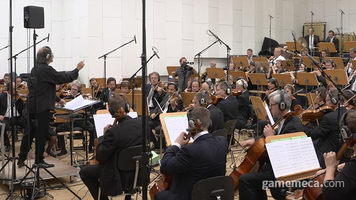 검은사막 리마스터 당시 해외 오케스트라와 협업해 화제를 모은 펄어비스 오디오실 (사진제공: 펄어비스)