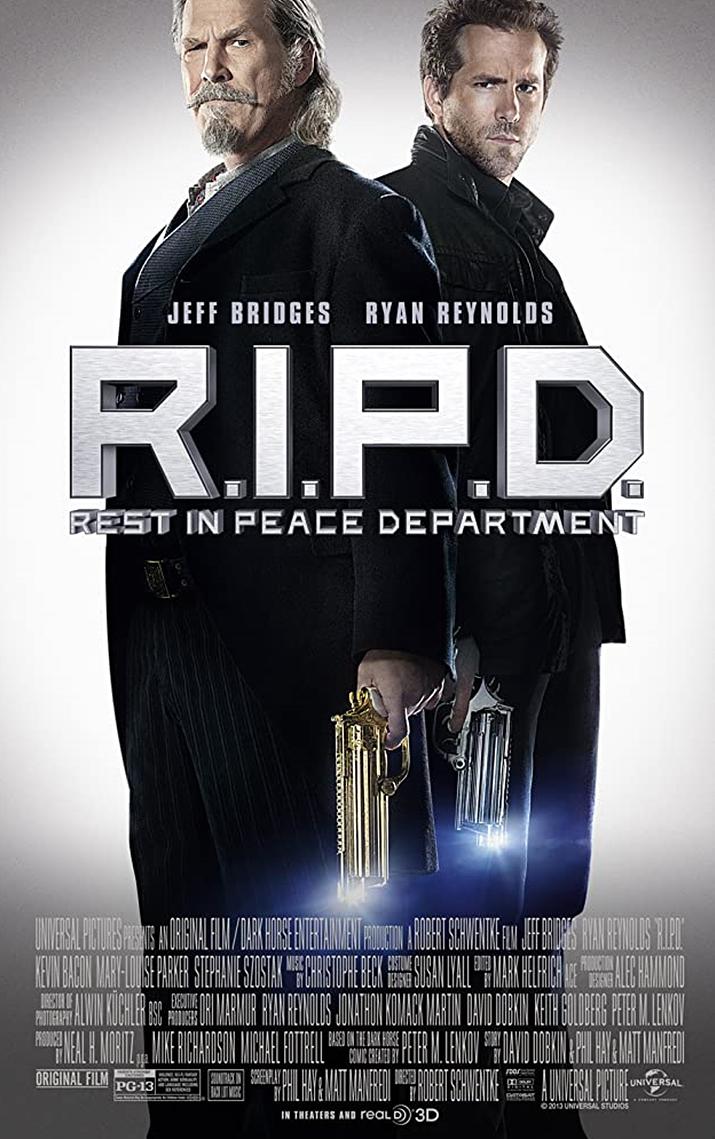 그린 랜턴을 벗어나 유령 퇴지에 나선 라이언 레이놀즈의 R.I.P.D. (사진출처: imdb)