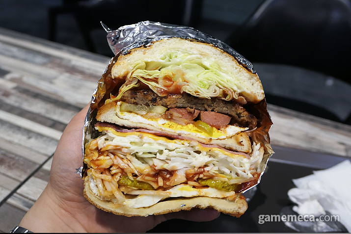 미스리 햄버거의 스페셜 버거