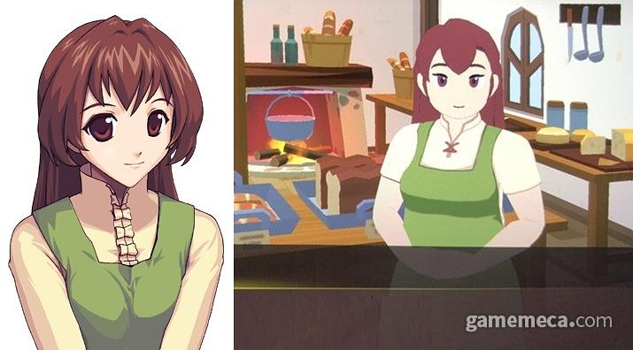 평행세계에서는 다이어트의 끈을 조금 푼 케이틴 (사진출처: 마비노기 공식 홈페이지, 게임메카 촬영)