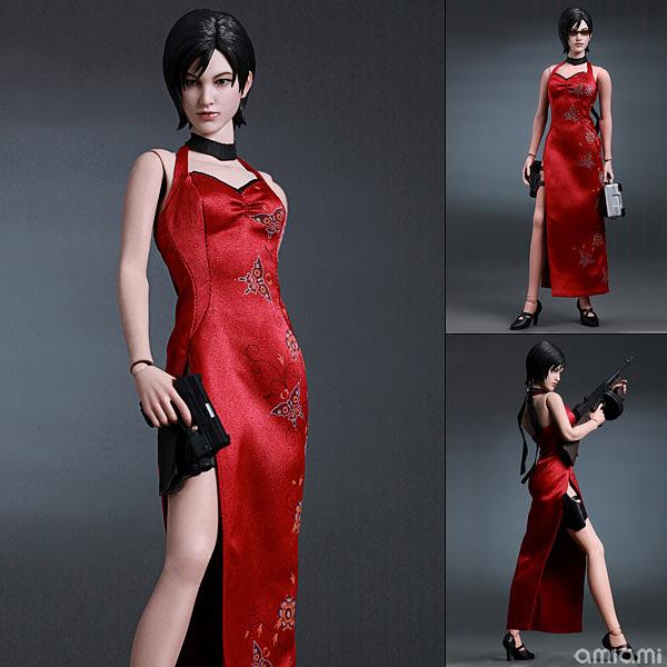 바이오하자드2 부터 등장하는 에이다 웡. 중국풍 드레스와 숏컷 헤어스다일이 매력적이다 (사진출처: 아미아미 홈페이지)