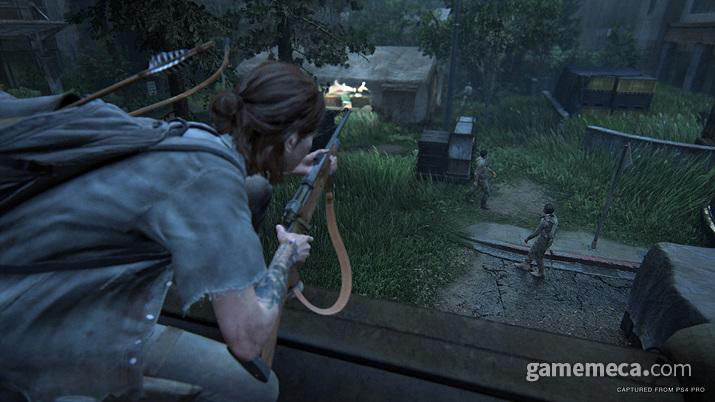 기본적으로 엘리가 든 무기에 맞춰서 대응 방식이 계속 달라진다 (사진제공: SIEK)