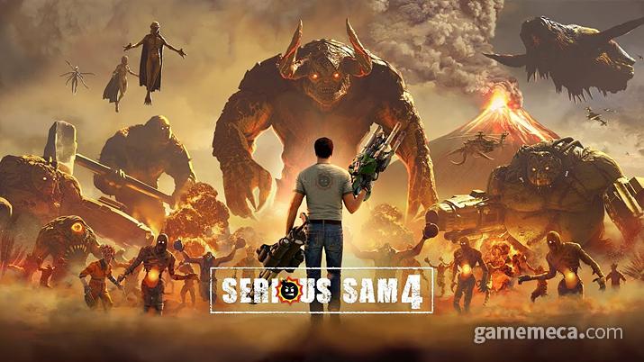 올 8월 출시되는 '시리어스 샘 4: 플래닛 배드애스' 홍보 이미지 (사진출처: 크로팀 공식 홈페이지)