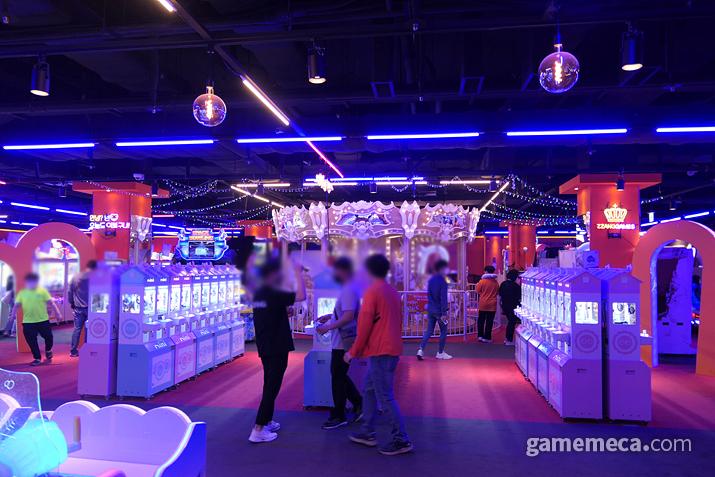스파크 7층 신규 게임센터, 짱오락실 대구 스파크점