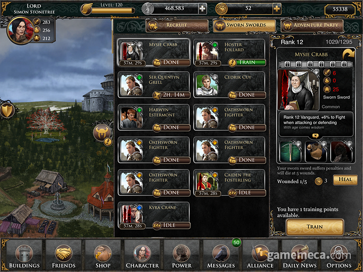 SNG으로는 첫 시작이었던 '왕좌의 게임: 어센트' (사진출처: 페이스북)