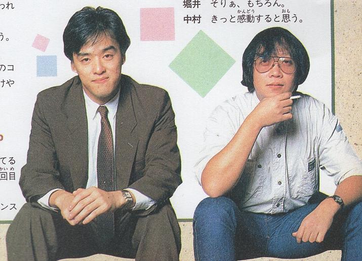 게임 개발 대회에서 1등을 한 나카무라 코이치(좌)와 호리이 유지(우) (사진출처: Medium)