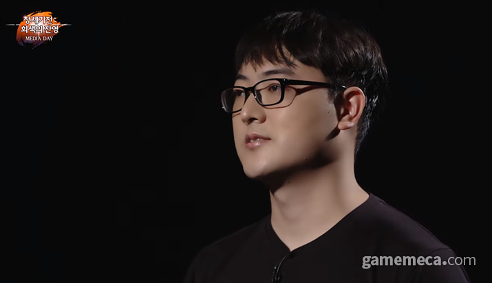 라인게임즈 김민규 대표 (사진출처: 온라인 간담회 갈무리)
