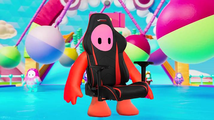 게이밍 의자를 콘셉트로 삼은 GT오메가 스킨 (사진출처: GT오메가 공식 트위터)