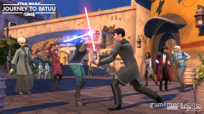 심즈 4 '스타워즈: 바투 행성의 전투' 게임팩 (사진출처: 심즈 4 공식 사이트)
