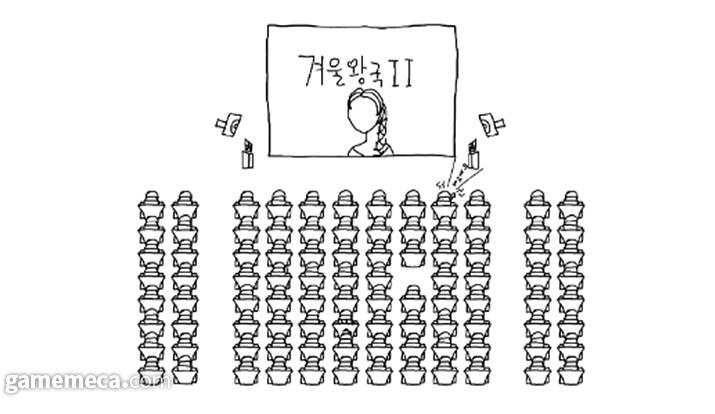 영화관 예절 모르는 사람도 많을 것이다 (사진제공: GIGDC 사무국)