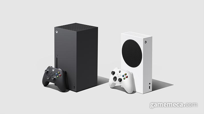Xbox 시리즈 X(왼쪽)와 시리즈S (오른쪽) (사진제공: MS)