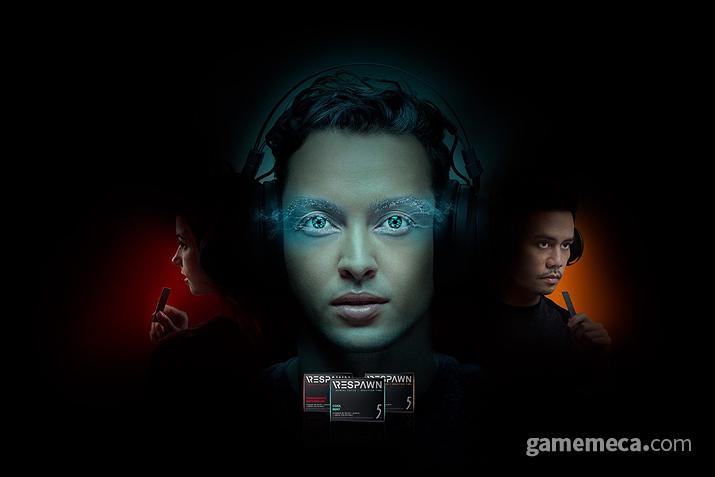 마치 게이밍 하드웨어처럼 보이는 레이저 리스폰 광고 이미지 (사진출처: 공식 사이트)