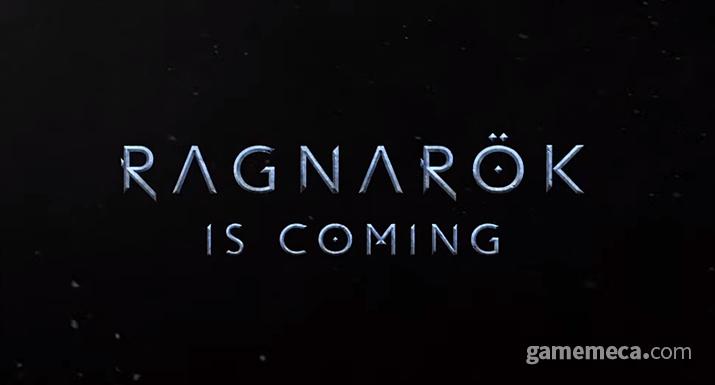 갓 오브 워 차기작은 북유럽 신들을 모두 쓸어버리는 '라그나로크'가 될 예정으로 보인다 (사진출처: PS5 쇼케이스 갈무리)