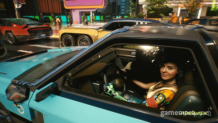 ▲ 차를 잘 알아야 고급차를 고를 수 있다 (사진출처: 사이버펑크 2077 공식 홈페이지)