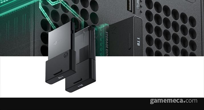 Xbox 시리즈 X/S용 시게이트 스토리지 확장 카드 (사진출처: Xbox 공식 홈페이지)