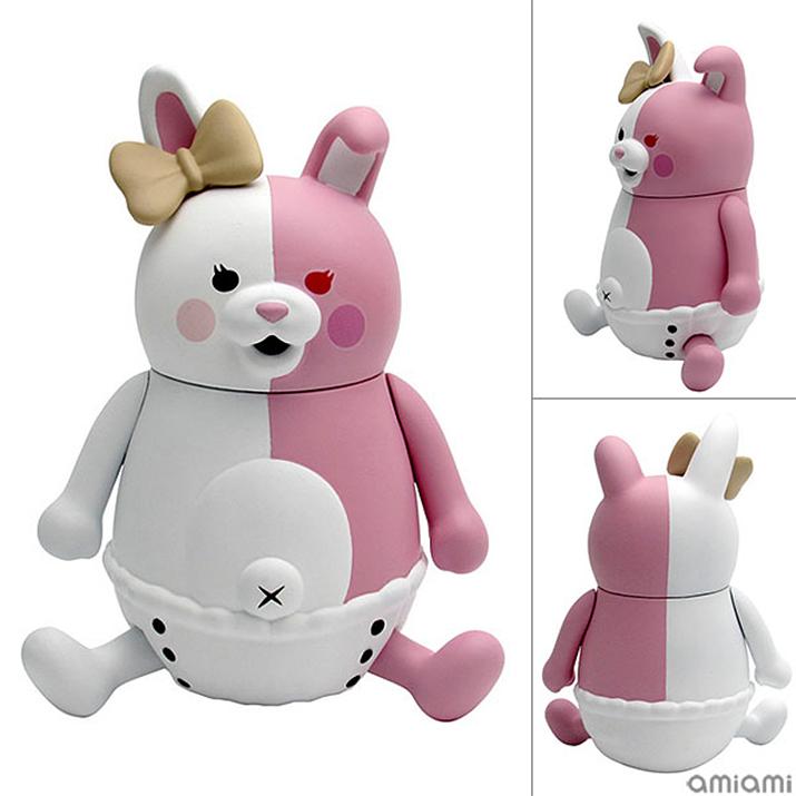 위의 모노쿠마와 동일하게 2020년 12월 발매예정인 캐릭터. 모노쿠마의 섬뜩한 반쪽표정과는 달리 모노미는 섬뜩해보이지 않아서 귀엽다 (사진출처: 아미아미 홈페이지)