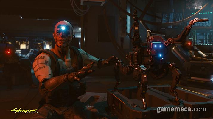 게임 초반부에 미션 도중 손에 넣을 수 있는 밀리테크 MTOD12 플랫헤드. 과연 실전에서도 사용 가능한 무기일까? (사진출처: 사이버펑크 2077 공식 사이트)