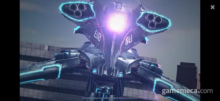 심지어 이런 거대 기계 보스도 등장한다 (사진: 게임메카 촬영)
