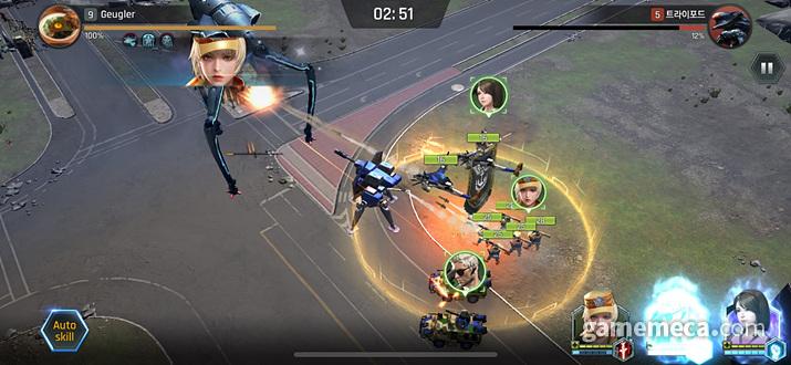 장교를 어떻게구성하는지가 이 게임의 핵심 전략이라 할 수 있다 (사진: 게임메카 촬영)