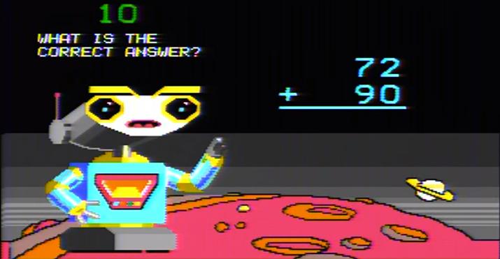 여기 보이는 저 로봇이 바로 8비트 테스형이다 (사진출처: 유튜브 채널 갈무리)