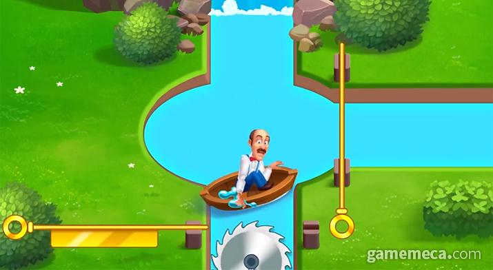 길 선택과 어드벤처 요소를 주력으로 광고하다 영국에서 광고 송출을 중지당한 3매치 퍼즐게임 '꿈의 정원'