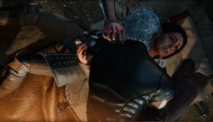 정체를 숨기고 있다가 밤에 몰래 주인공 피를 빨러 오는 뱀파이어 동료 (사진출처: Something Awful Forum)