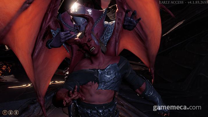 악마와 외계인이 싸우는 흔치 않은 전개 (사진: 게임메카 촬영)