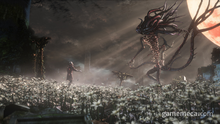 '사냥꾼의 꿈'을 만들어준 '달의 존재' (사진출처: 스팀)