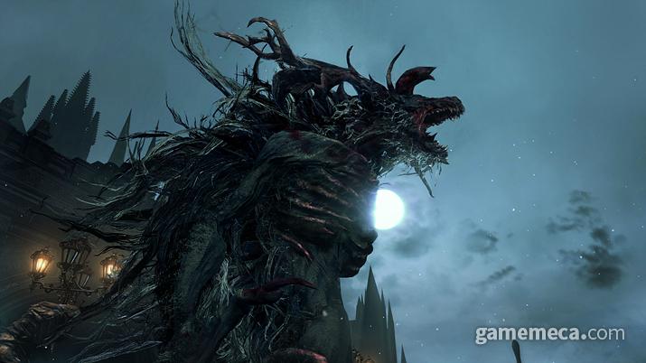 '야수병'에 걸린 성직자는 특히 크고 위험한 괴물로 변한다고(사진출처: 스팀)