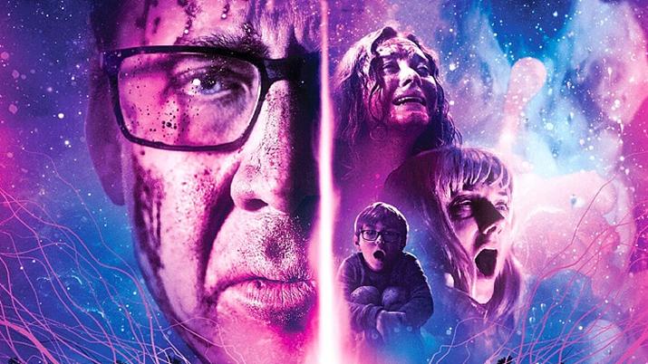 우주에서 온 초월적 존재에 의해 정신과 신체가 오염되는 공포를 다룬 영화 '우주에서 온 색채' (사진출처: IMDB)