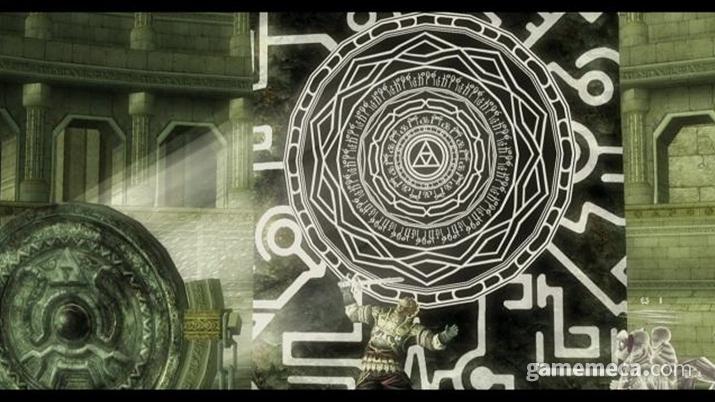 황혼의 거울로 그림자 세계에 마왕을 무단투기 하는 현자들 (사진출처: 게임 내 영상 갈무리)