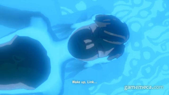 가사 상태에 들어갔다가 회생의 사당에서 살아나는 링크 (사진출처:Zelda Dungeon)