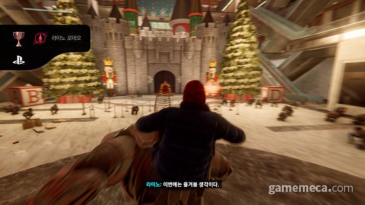 애초에 시간적 배경이 크리스마스 시즌이다보니 (사진: 게임메카 촬영)
