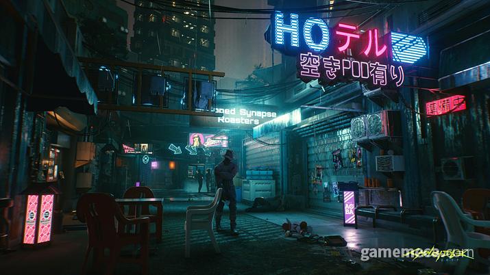 홍콩이나 일본 뒷골목처럼 보이는 나이트시티 풍경은 전혀 우연이 아니다 (사진출처: 사이버펑크 2077 공식 홈페이지)