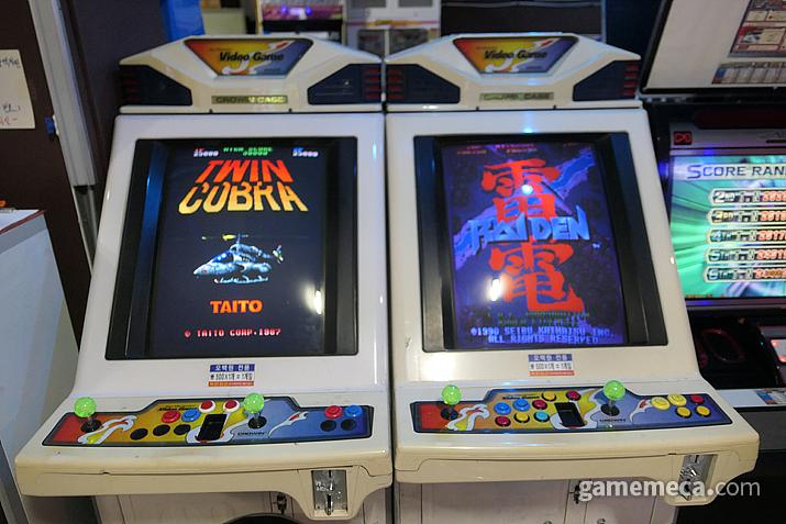 타이토의 트윈 코브라와 세이부의 라이덴. 30년 넘은 역사의 슈팅 게임