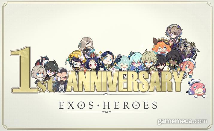 엑소스 히어로즈 1주년 (사진제공: 라인게임즈)