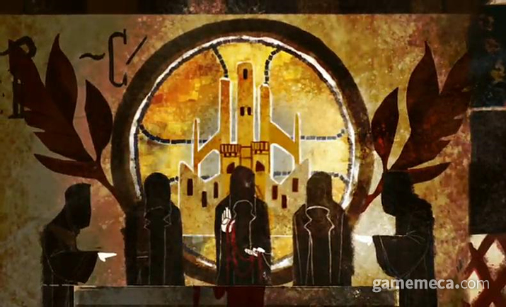 혈마법으로 강대한 힘을 얻었던 테빈터 제국의 최고위 마법사들 (사진출처: 게임 영상 갈무리)
