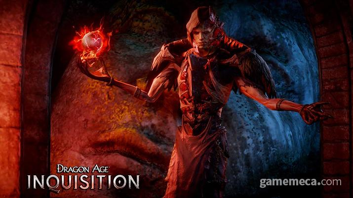 사악한 위용의 악당 코리피우스, 그런데 저 보주는 자기 게 아니다 (사진출처:  EA 공식 홈페이지)