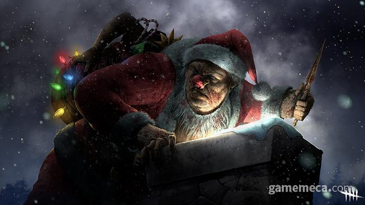 나쁜 아이는~ 선물을 주지 않고~ 선물이 된다네~ (사진출처: 데드 바이 데이라이트 공식 홈페이지)