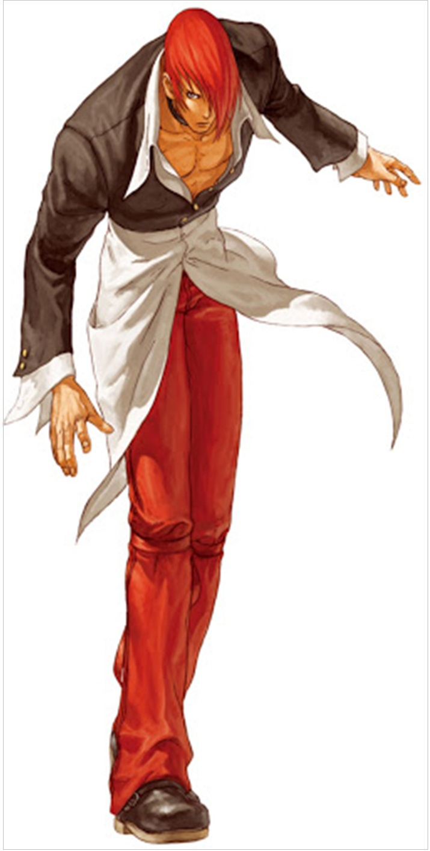 훗날 간판 캐릭터가 될 이오리도 KOF 95부터 등장했다 (사진출처: SNK Wiki)