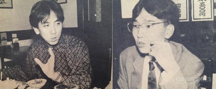 젊은 시절의 니시야마 타카시(좌)와 마츠모토 히로시(우) (사진출처: SNK Wiki)