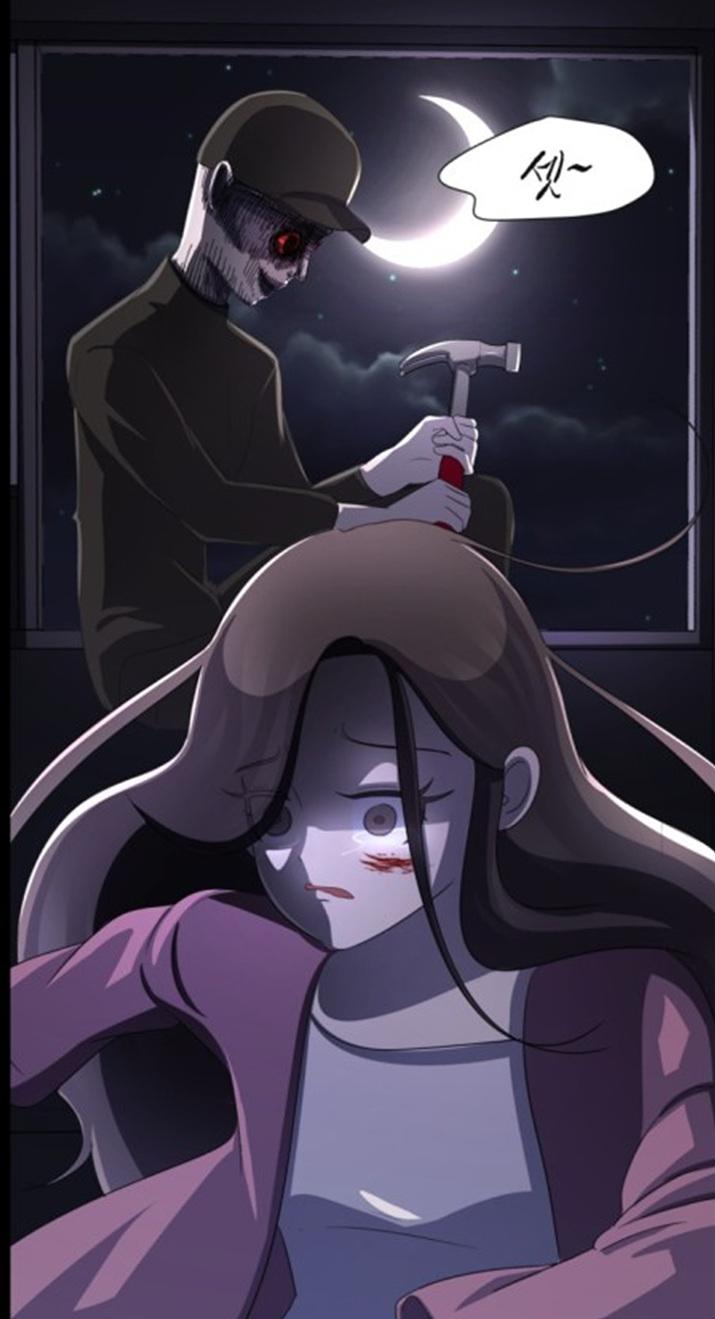 그림체와는 달리 섬찟한 묘사가 눈에 띄는 '살人스타그램' (사진출처: 네이버 웹툰 공식 홈페이지)
