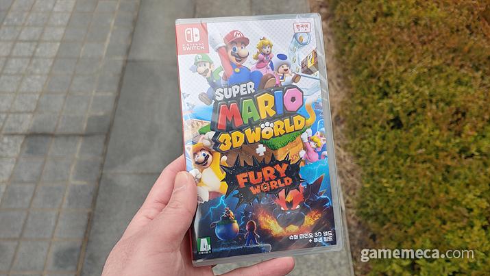 슈퍼 마리오 3D 월드+퓨리 월드 (사진: 게임메카 촬영)
