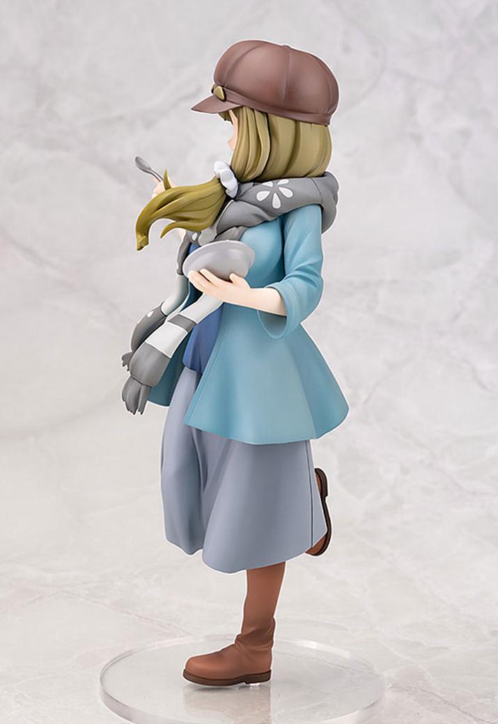 모자는 탈착이 가능하다. 유루캠△은 나데시코와 린의 더블 인기체제지만, 그나마 아오이가 완성형 피규어로 하나 발매되었다 (사진출처: AMIAMI 홈페이지)
