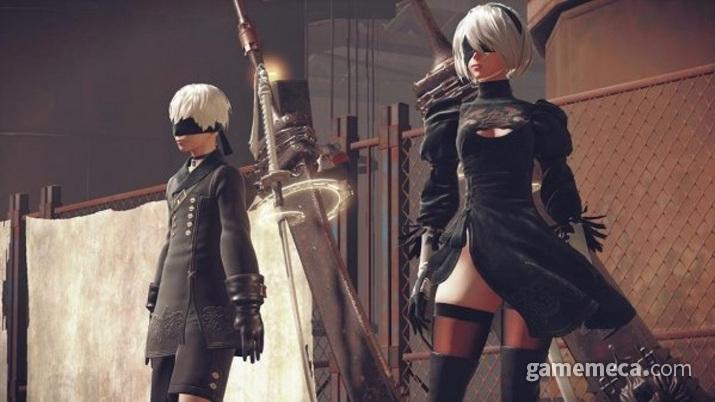 실제 게임 내 모델링은... 그야말로 센세이션이었다 (사진출처: 스퀘어에닉스 공식 홈페이지)