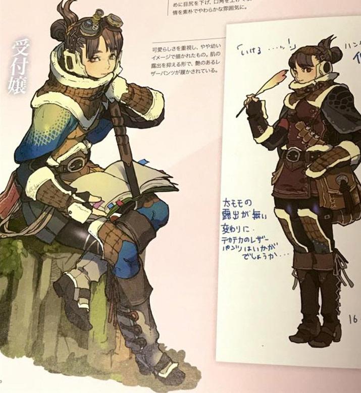 그러니까 이런 원화로 그려진 캐릭터를... (사진출처: anige-sokuhouvip.com)