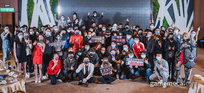 대만 에오스 레드 유저간담회 (사진제공: 블루포션게임즈)